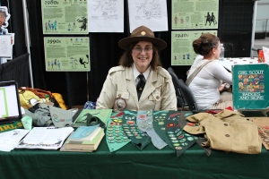 "Susan ""Daisy"" Ducey at the Patent and Trademark Expo, 2012"