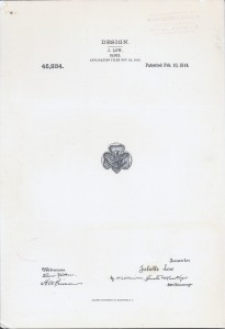 Page from Trefoil patent application