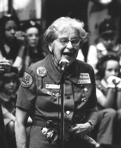 Marian Corbin Aslakson, one of Savannah's first Girl Scouts.