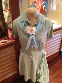 Official camp uniform from the 1940s and 1950s.
