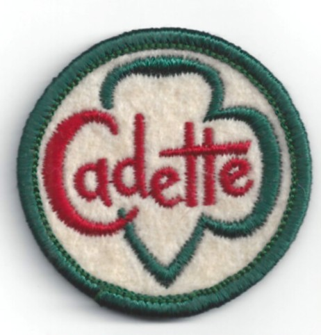 Cadettes had their very own logo!