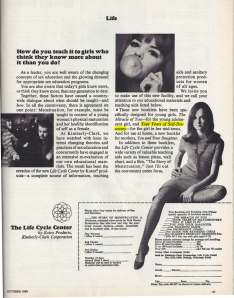 Add from October 1969 Leader magazine. Getting a little racy here.