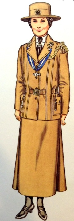 "Juliette Gordon Low paper doll from ""On My Honor"" by Kathryn McMurtry Hunt and Lynette C. Ross."