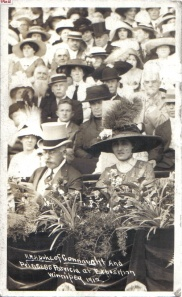 Princess Patricia and the Duke of Connaught at the Winnipeg Expo in 1912 (http://dukeofconnaught.yolasite.com/).