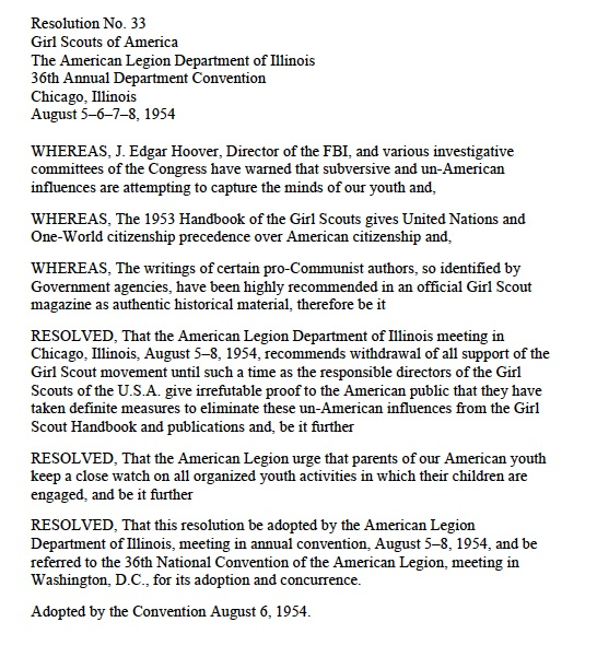 The Illinois resolution, retyped from a file at GSUSA NHPC.