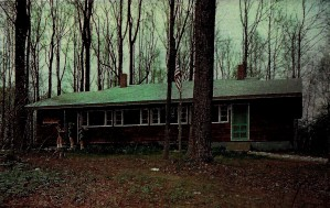 Weston Lodge at Rockwood National Center (demolished in early 1980s).
