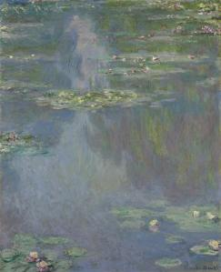 Claude Monet's Nympheas hung in Huguette's living room for decades.