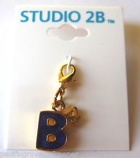 Gold 4Bs Charm