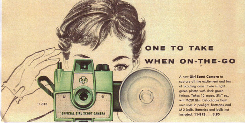 photography badges change over time girl scout history