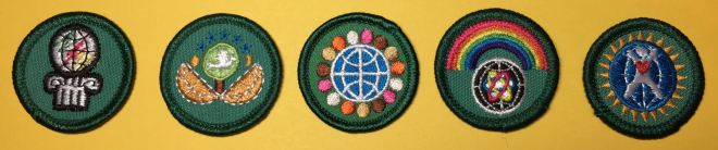 """Transition"" Junior Dabbler badges."