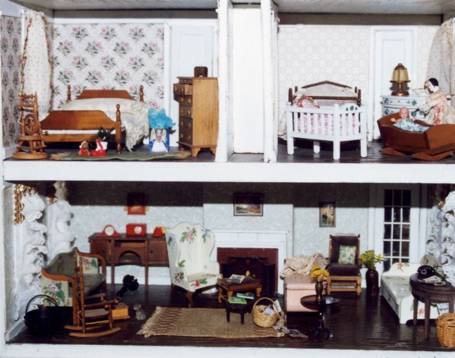 Living room, bed room, and nursery (Dorothy Angel Tenney)