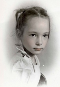 Dorothy Angel as a child (Dorothy Angel Tenney)