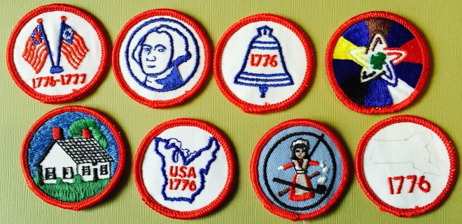 Some of the badges available.