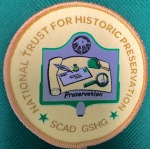 GS Historic Georgia-SCAD Preservation Patch