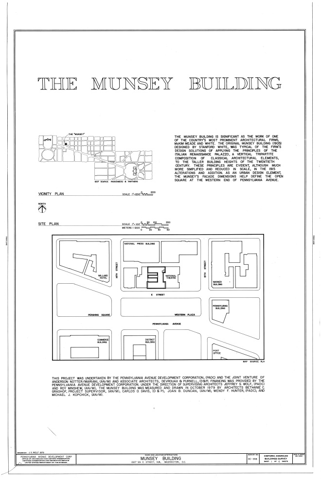 Munsey Map