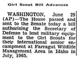 Senate Aid 1964