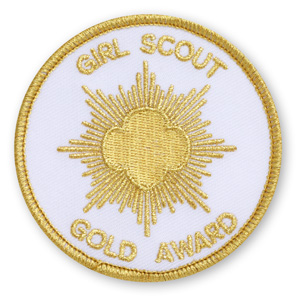 gold patch