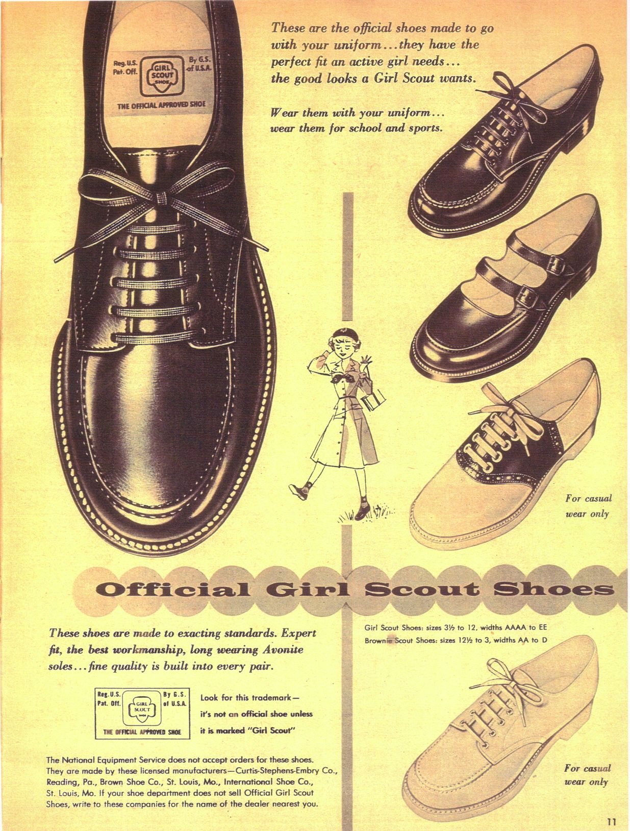 Shoes? Girl Scouts Had Shoes?   Girl