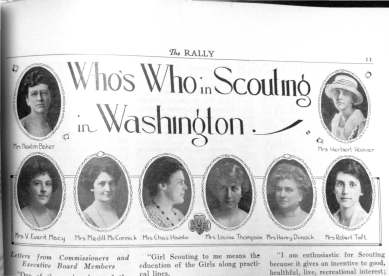 Pages from Who's Who in Washington
