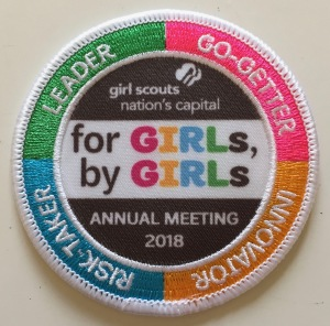 2018 Annual Meeting Patch