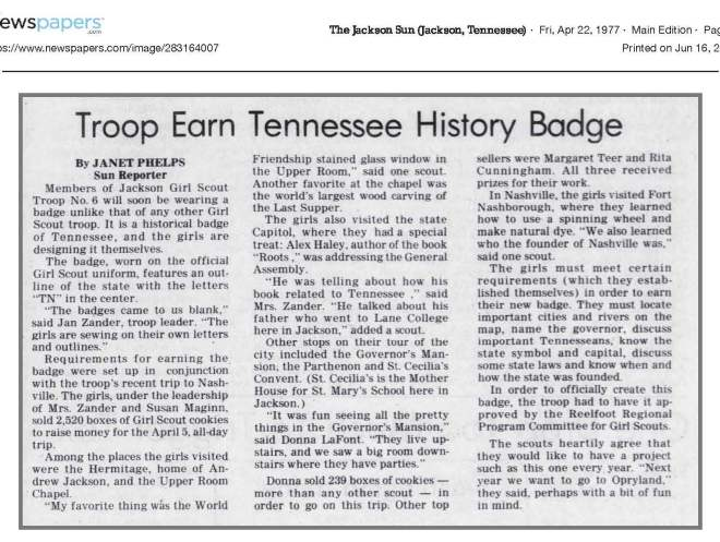 Tennessee History