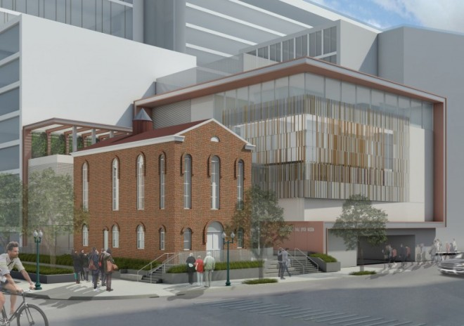 Rendering of new Capital Jewish Museum